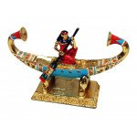 Regal Ancient Egyptian Boat